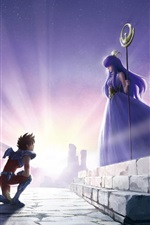 Preview iPhone wallpaper Saint Seiya, Knights of the Zodiac
