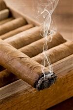Smoke, cigars