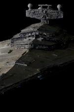 Star Wars, battlecruiser, design de arte