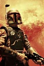 Preview iPhone wallpaper Star Wars, toy, soldier