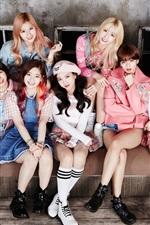 Preview iPhone wallpaper TWICE, Korean music girls 02