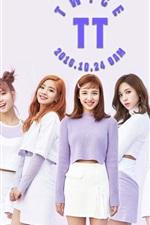 Preview iPhone wallpaper TWICE, Korean music girls 05