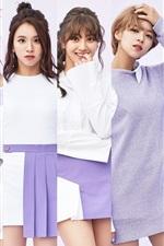 Preview iPhone wallpaper TWICE, Korean music girls 07