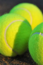 Preview iPhone wallpaper Tennis close-up