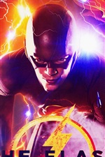Preview iPhone wallpaper The Flash 2018