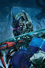 Preview iPhone wallpaper Transformers: The Last Knight, Optimus Prime