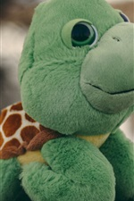 Preview iPhone wallpaper Turtle toy