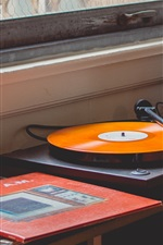 Preview iPhone wallpaper Vinyl records player
