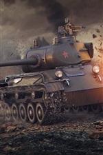 World of Tanks, fire, war