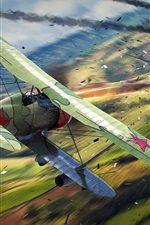 Preview iPhone wallpaper World of Warplanes, PC games