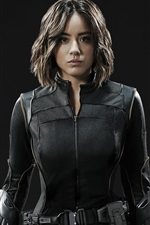 Preview iPhone wallpaper Agents of S.H.I.E.L.D., Chloe Bennet, Daisy Johnson