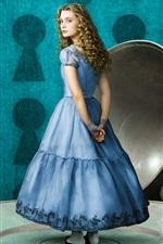 Alice no País das Maravilhas, garota loira, pires, xícara