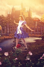 Alice in Wonderland, creative picture