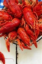 Appetizer, lobster, beer