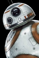 Preview iPhone wallpaper BB8 robot, Star Wars