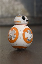 BB8 robot, toy, Star Wars