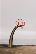 Preview iPhone wallpaper Basketball net, special shaped