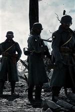 미리보기 iPhone 배경 화면 배틀 필드 1, 인기 게임, 군인