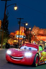 Cars 3, supercar, city, night, lights