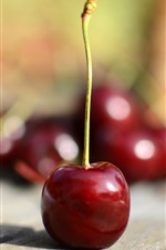 Preview iPhone wallpaper Cherry, fruit, juicy