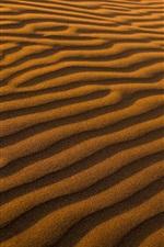 Preview iPhone wallpaper Desert, sand, surface, strips