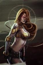 Fantasy girl, warrior, armor