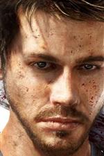 Far Cry 3, homem, faca, sangue