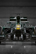 Preview iPhone wallpaper Formula 1 car front view