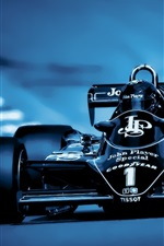 Preview iPhone wallpaper Formula 1 race car, front view, cool