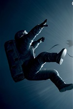 Preview iPhone wallpaper Gravity 2013 movie