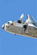 Preview iPhone wallpaper Grumman C-2 transport plane