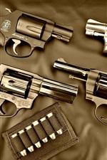 Preview iPhone wallpaper Guns, bullet, weapon