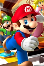 Preview iPhone wallpaper Mario, classic video games