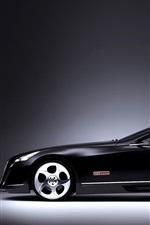 Maybach black luxury car