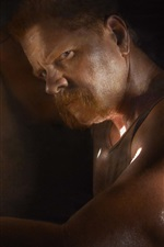 Preview iPhone wallpaper Michael Cudlitz, The Walking Dead