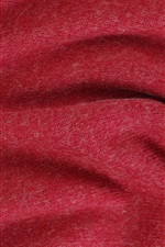 Preview iPhone wallpaper Red fabric texture