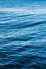 Preview iPhone wallpaper Sea, waves, blue, nature