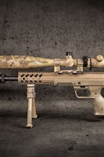 iPhone fondos de pantalla Rifle de francotirador, arma