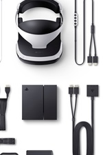 Preview iPhone wallpaper Sony PlayStation VR packing list