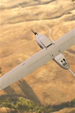 Preview iPhone wallpaper Stalker XE Unmanned Aerial plane flight