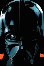 Preview iPhone wallpaper Star Wars, Darth Vader, art picture