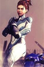 StarCraft 2, Sarah Kerrigan, humana
