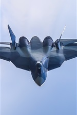 Preview iPhone wallpaper T-50 multipurpose fighter flight
