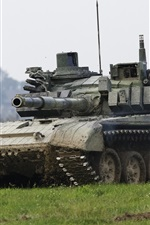 Preview iPhone wallpaper T-72 tank, armor