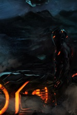 Preview iPhone wallpaper TRON: Legacy, art picture