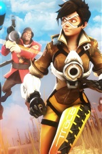 Preview iPhone wallpaper Team Fortress 2, Overwatch