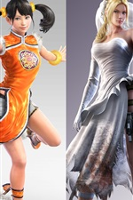 Preview iPhone wallpaper Tekken 7, beautiful girls show