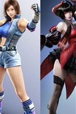 Preview iPhone wallpaper Tekken 7, four beautiful girls