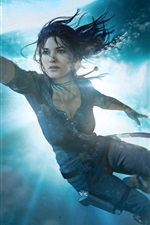 Preview iPhone wallpaper Underwater, Lara Croft, Tomb Raider