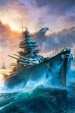 Mundo dos navios de guerra, navio de batalha, águia